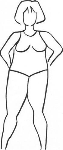 Körperform H-Form Rechteck
