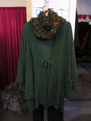 outfit grün