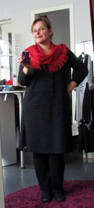 plus size outfit spitze 2