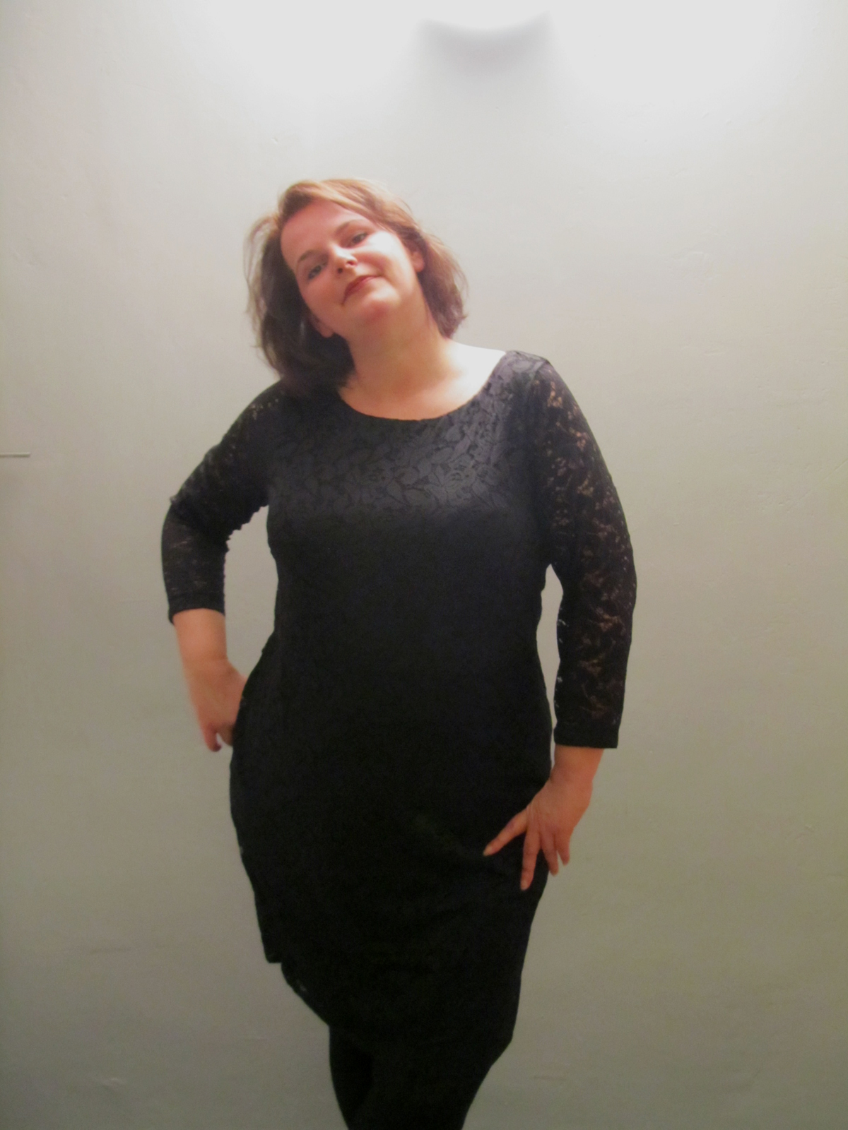 Spitzenkleid H&M Silvester Outfit