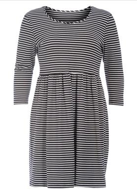 Kleid Streifen