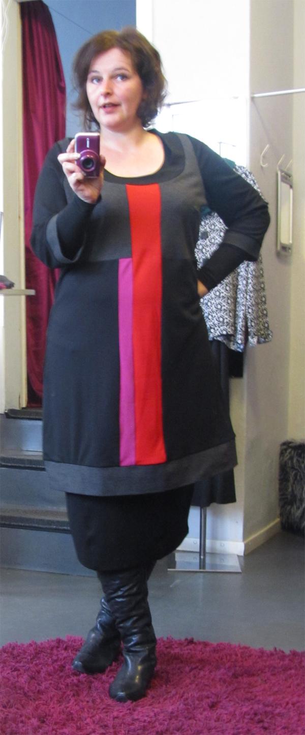 plus size outfit kleid laredoute 01