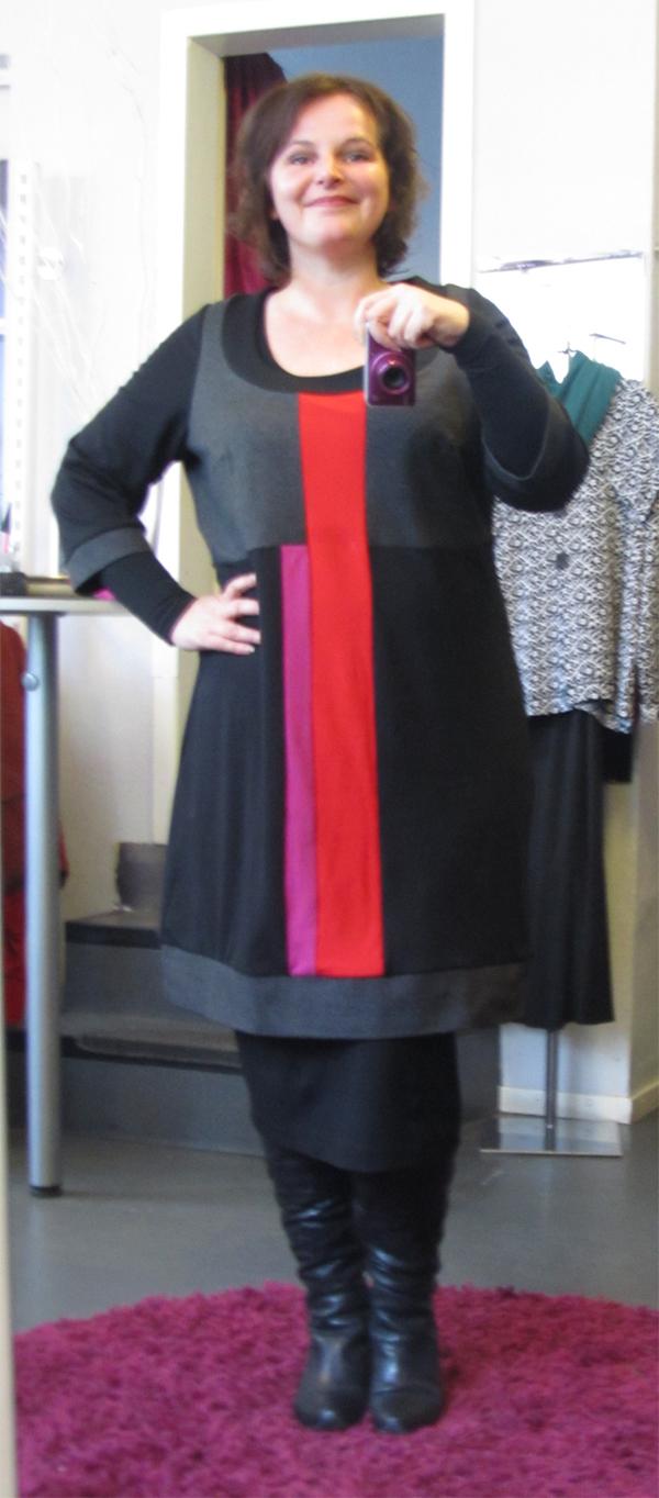 plus size outfit kleid laredoute 1