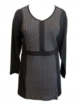 Kleid X-Two Schwarz Grau