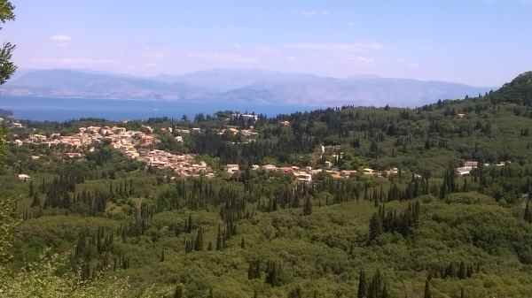 Ausblick Korfu