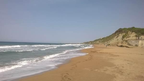 korfu beach