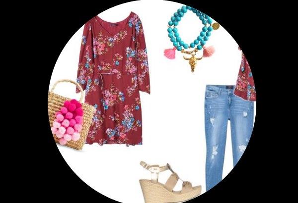 outfit idee xxl violeta mango