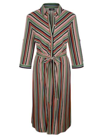 MIAMODA Kleid mit Knopfleiste